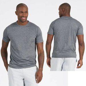 Vuori Tradewind performance avtive Tee gray pockets size L